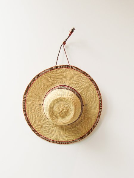 African Market Baskets Sun Hat