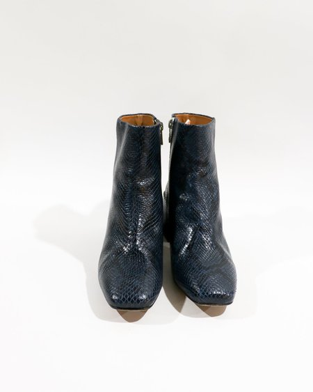 [Pre-loved] LOQ The Lazaro Boot - Navy