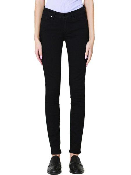 Paige Transcend Verdugo Ultra Skinny Jeans - Black Shadow
