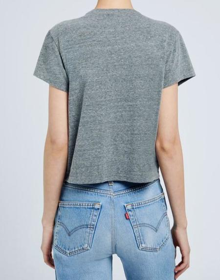 RE/DONE Recycled 50s Boxy Tee - Heather Grey