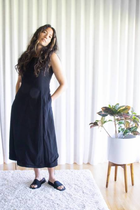 Amomento Volume Dress - Black