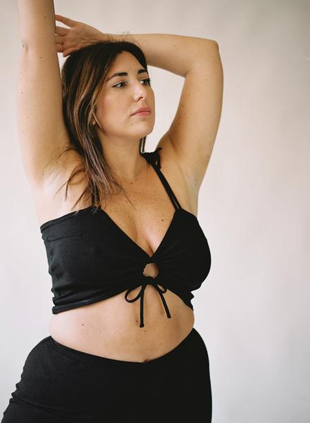 Aniela Parys Elise Top - black