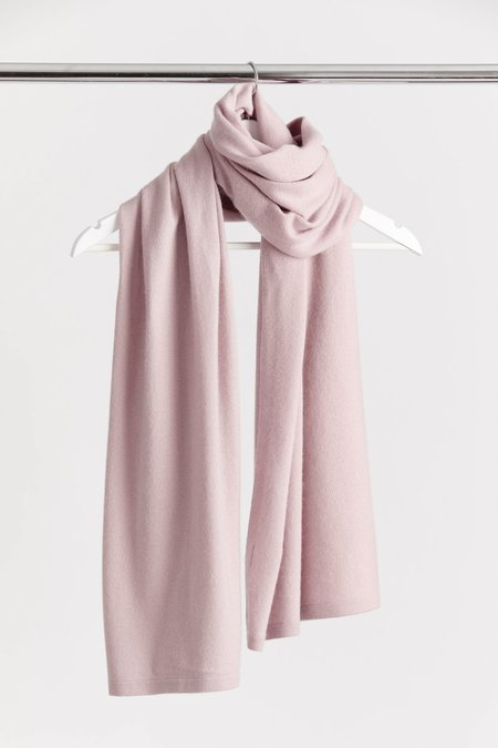 Laing Home Cashmere Scarf - Dusky Pink