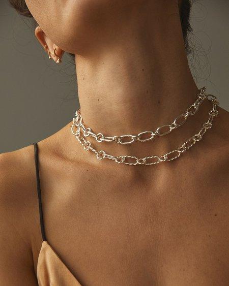 Pamela Love Alev Handmade Chain necklace - Sterling Silver