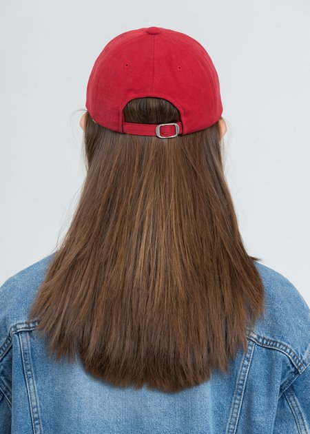 we11done Logo Cap - Red