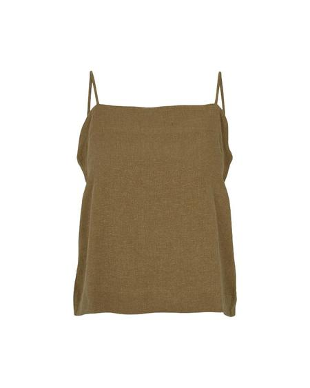 BASIC APPAREL Tove Tank Top - Capers Green