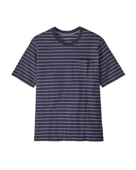 Patagonia Ms Organic Cotton MW Pocket T-Shirt - New Navy