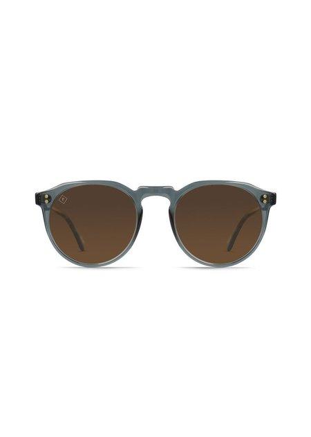 UNISEX Raen Optics Remmy 49 Polarized Sunglasses - Slate Crystal/Vibrant Brown