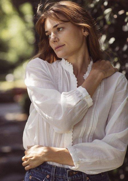 Trovata Olivia Blouse - Antique White