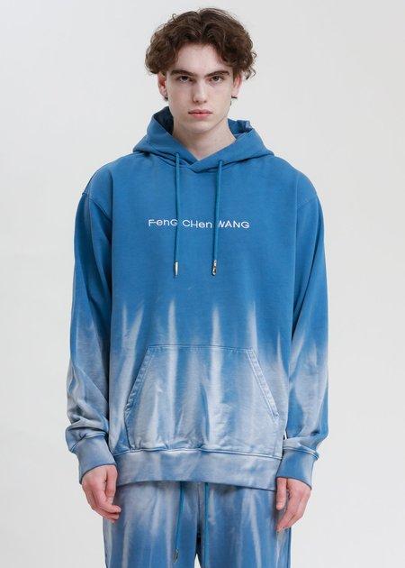 Feng Chen Wang Hoodie - Blue/Gradient Tie Dye