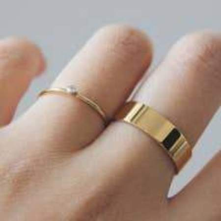 Maive Classic Single Stone Ring