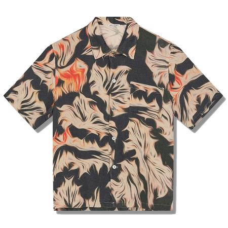 Our Legacy Box Shirt Shortsleeve top - Platigyra Print
