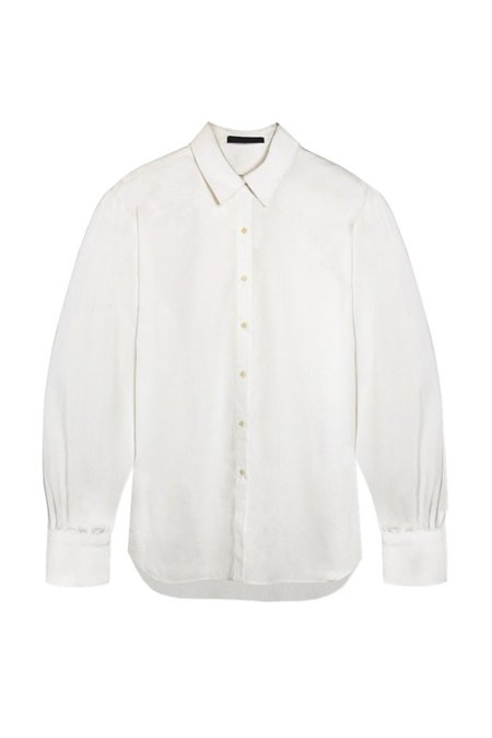 KES Halo Cotton Button-Up shirt - Natural