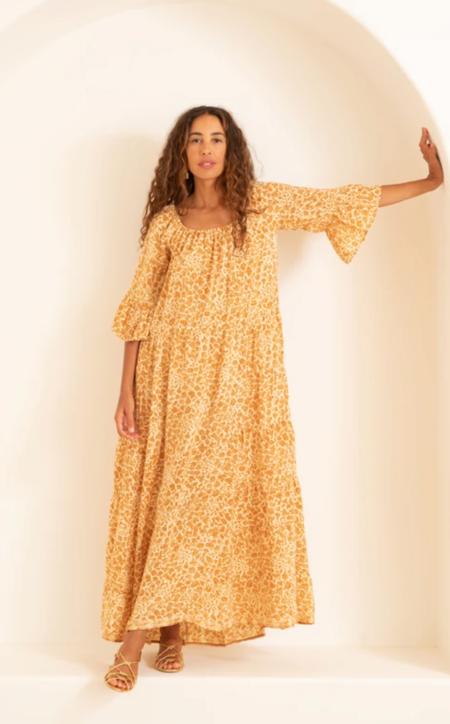 Natalie Martin mesa maxi dress - ivy cumin