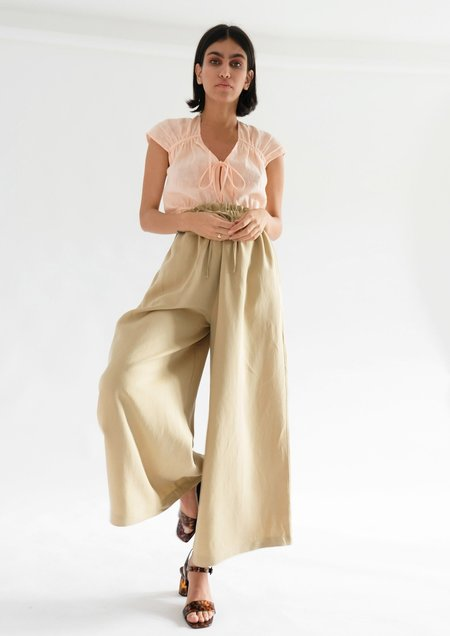 Ohsevendays Heather Trousers - Biscotti
