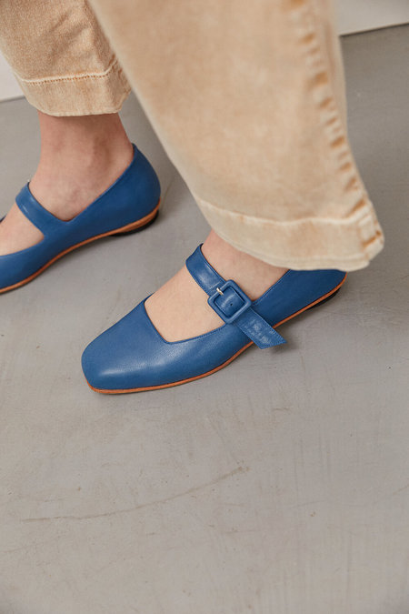 Zou Xou Eugenia Flat - Denim