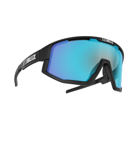 Bliz Fusion Lens - Black/Smoke/Blue Multi