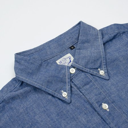 orSlow Button-down Shirt - Chambray