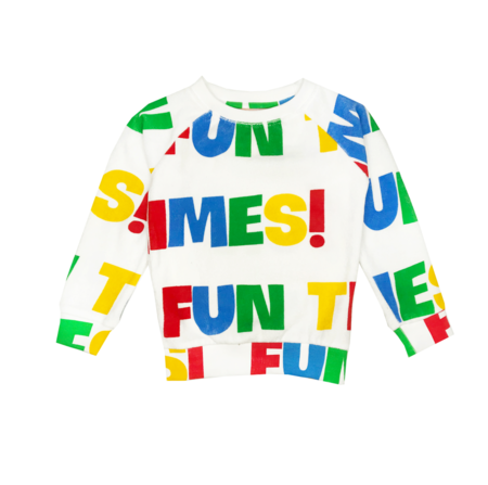 Kids Hugo Loves Tiki Fun Times Terry Sweatshirt - Multi
