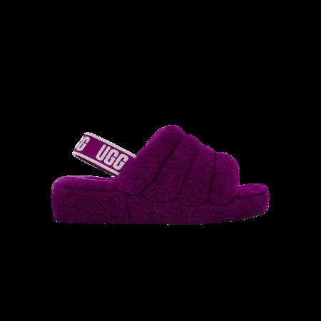 UGG Fluff Yeah 1095119-BYLC Slide - Berrylicious