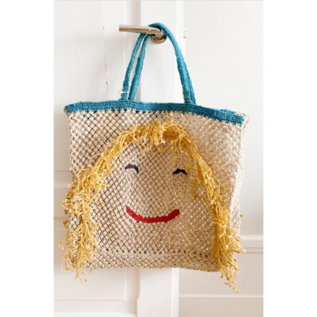 The Jacksons Miss Molly Beach Bag - Natural/Multi