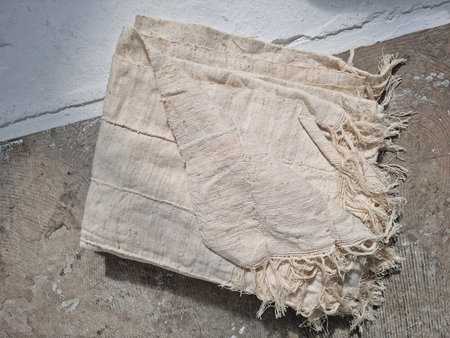 The Bibio Project UNPROCESSED COTTON BLANKET - Raw