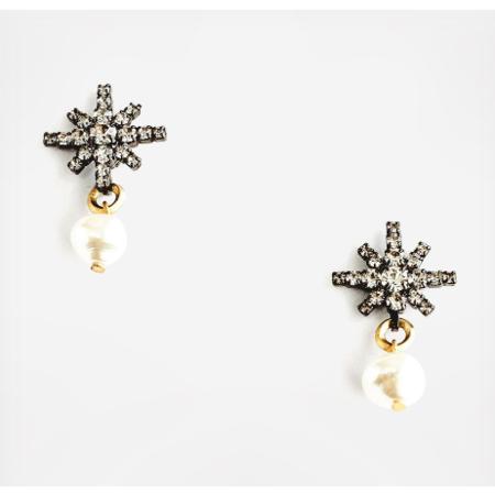 Elizabeth Cole Alice Earrings - Gold