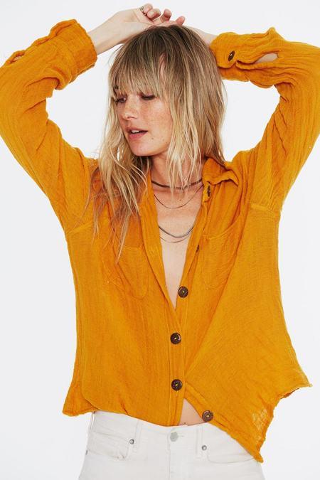 Jen's Pirate Booty SAMPLE Mahzar Shirt - Deep Gold