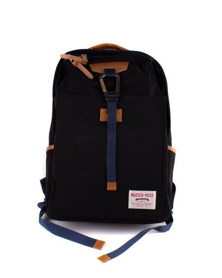 MASTER-PIECE Link Zip Top Backpack - Green/Black