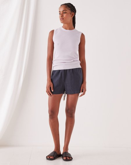 Assembly Label Ella Knit Tank - Lilac