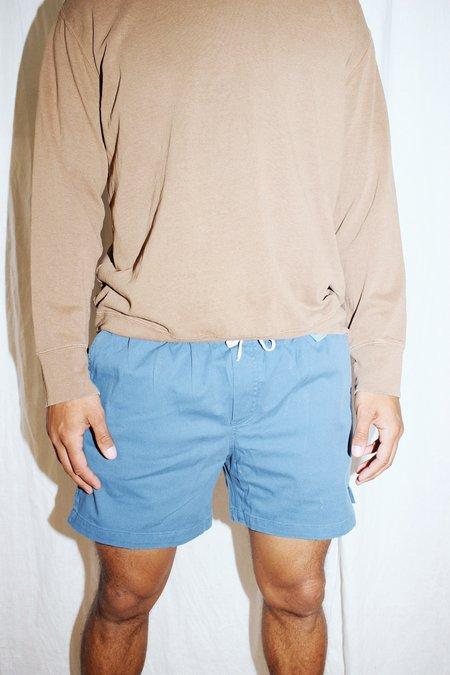 Corridor Drawstring Shorts -  Indigo