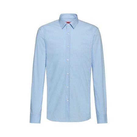 Hugo Boss Elisha Extra Slim Tailored Shirt - Sky