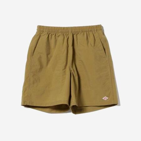 Danton Nylon Taffeta Shorts - Camel