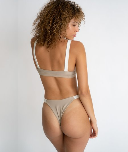 The Saltwater Collective Lucy Bottom - Crepe/Ivory