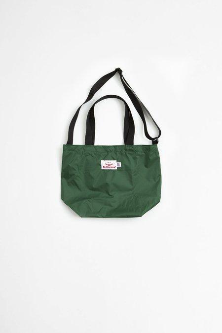 Battenwear Mini Packable Tote - Forest Green/Black