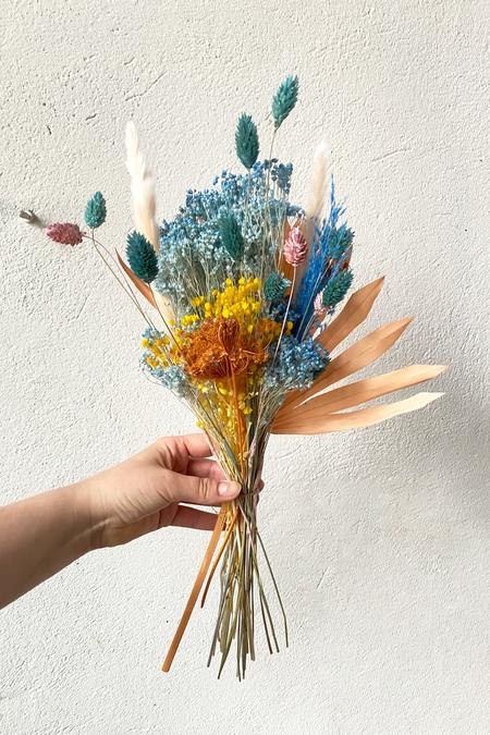IN FLOWER Blue Blooms Bouquet