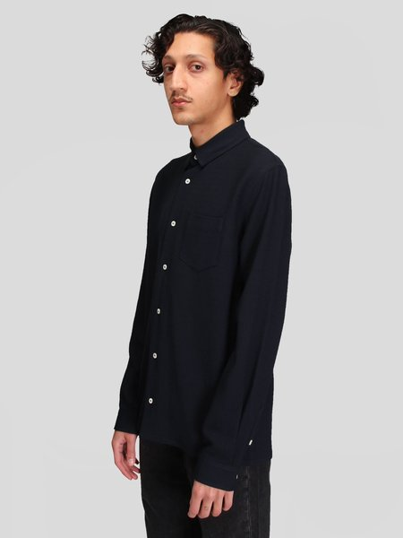 Séfr Hampus Shirt - Dark Navy