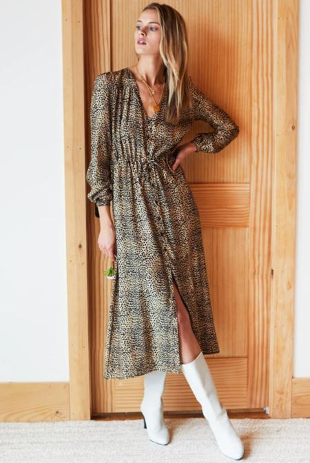 Emerson Fry May Silk Dress - Little Cheetah