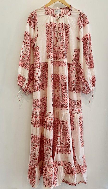 Antik Batik Nali Maxi Dress - Red Batik