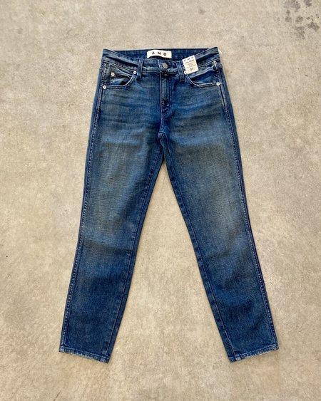 amo denim Stix Crop Jeans - Forever Blue