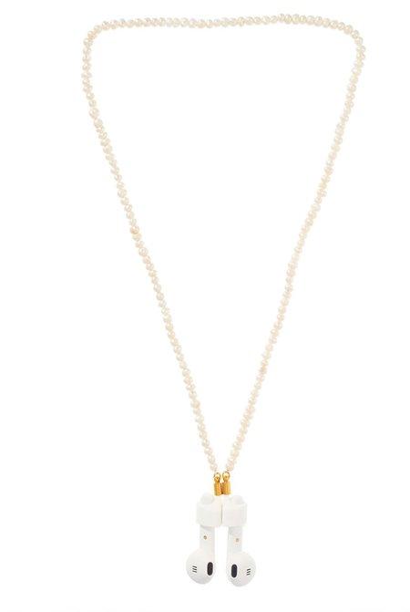 Talis Chains AirPod Chain Pearl