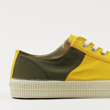NOVESTA x Universal Works Star Master Two Tone Shoes - Olive Sunshine