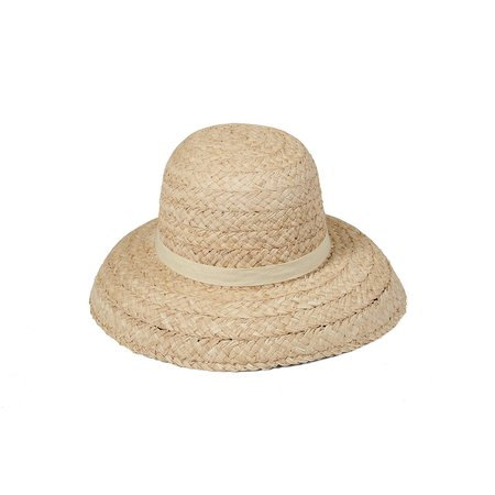 Lack of Color Bloom Raffia Hat - Natural