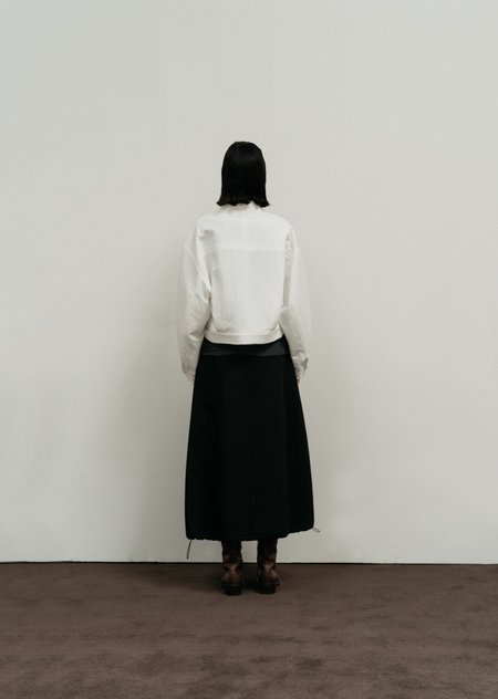 AMOMENTO Volume Skirt - Black