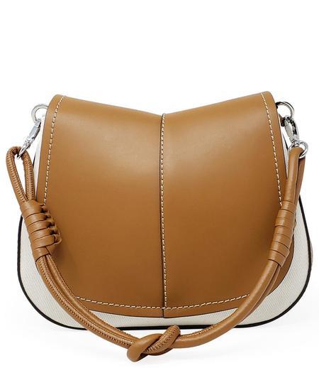 Gianni Chiarini Helena Round Riviera Handbag/Crossbody Bag - Tan