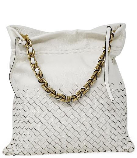 Gianni Chiarini Memory Tote bag Crossbody Bag - White