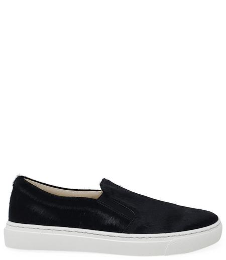 Madison Maison By Fashion Moda Pony Slip On Sneaker - Black