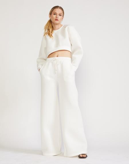 Cynthia Rowley Niall Bonded Pants - White