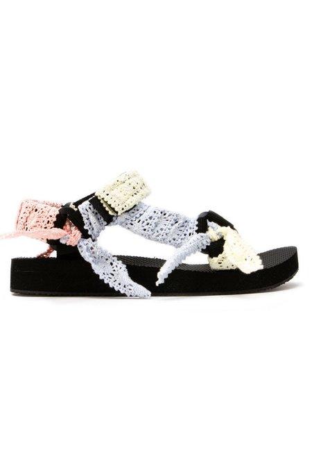 Arizona Love Trekky Mix Lace sandals - Multi