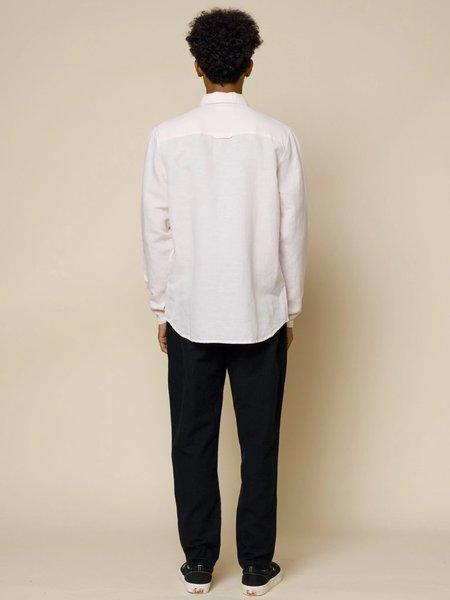 Folk Clothing Stitch Pocket Shirt - Pink